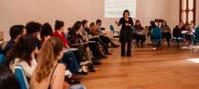 Parceria UFOP e Prefeitura promove mobilização para combater a violência contra a mulher - Foto de Ane Souz
