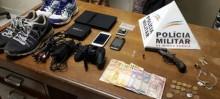 Quadrilha de roubo é presa em Ouro Preto pela Polícia Militar