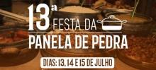 Cachoeira do Brumado comemora a 13ª Festa da Panela de Pedra