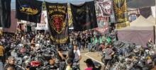 Furquim recebe centenas de motociclistas - Foto de Roberto Jr