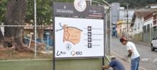 Itabirito recebe novas placas de sinalização turística
