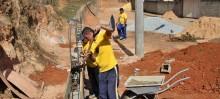 Intervenções do Programa Mãos Solidárias no Cabanas estão a todo vapor - Foto de Joyce Fonseca