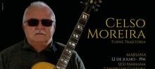 """Celso Moreira celebra 40 anos de carreira com seu show """"Trajetória"""" pelas terras de Minas Gerais"""