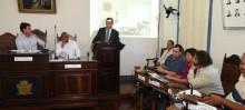 Prefeito Júlio Pimenta faz balanço do ano em última reunião da Câmara de Ouro Preto